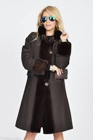 mink furs new 2016 milano brown reversible saga mink fur coat