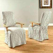 seat cover for dining room chairs chair damask long arm enlarge covers uk kitchen sink drain