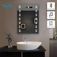 Mirrors With Lights Around Them Bathroom Wall Makeup Mirror Vanity With Mirror And Lights