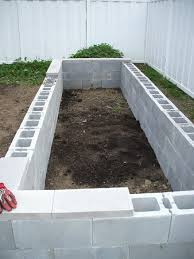 Small Picture Concrete Raised Garden Beds Easy to build and fairly cheap