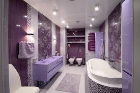 Incredible Design Ideas Purple Bathroom Designs Home Design Ideas