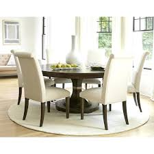 small rug under kitchen table image of round rug under dining table