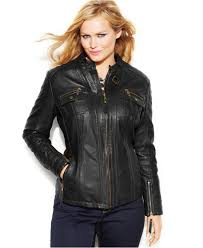 leather jackets for plus size