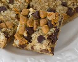 oat chocolate chip erscotch bars