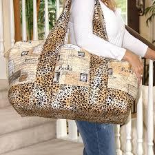 7 Stylish Duffel Bag Patterns You Can Sew in a Weekend & Getaway Travel Duffel Bag Adamdwight.com