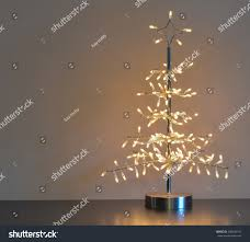 Gold Wire Christmas Tree Lights Stylized Silver Metal Wire Christmas Tree Holidays