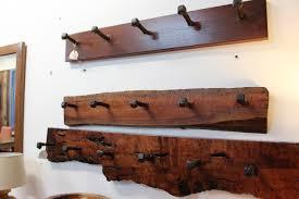 Cabin Coat Rack Chic Rustic Coat Racks DIY Wood Rack Wall Mounted Cabin Standing 84