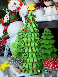 Paper Crafts For Christmas Paper Craft Christmas Tree Free Stock Photo Public Domain Pictures