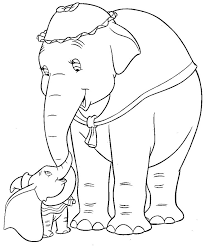 Small Picture 95 best Dumbo images on Pinterest Draw Coloring sheets and