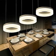 3 Light Pendant Lighting Modern Hanging Light Fixture Kitchen Island Hanging  Lamp 3 Rings Dining Room
