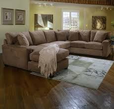 Stylish Light Brown Leather Sectional Light Brown Leather Sectional