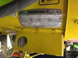 enerpac electric pump tank system model p6k17fz29a image 5 enerpac electric pump tank system model p6k17fz29a