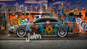 toyota mark2 jzx90 jdm graffiti crystal city car
