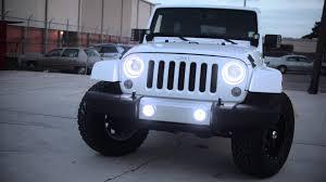 oracle jeep wrangler sahara with white leds