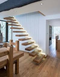 ... how to build floating stairs outside wood walls staircase diy do work  stair kit with railing ...