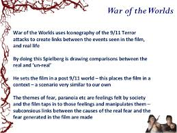 lesson war of the worlds as allegory  19