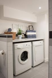 As seen on HGTV's Love It or List It, Hilary's design for this laundry room/ bathroom combination includes a neutral color palette with complimentary  pops of ...
