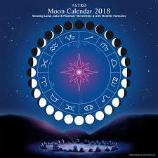 2018 Moon Chart 2018 Moon Sign Calendar Calendar Template 2019