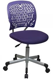 modern computer chairs. Fun Modern Armless Purple Computer Chair Chairs
