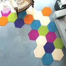 hexagon area rugs okkaku olling area rug sizes