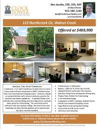 Home For Sale Brochure flyers for selling houses MarketingAdvertising Walnut Creek 1