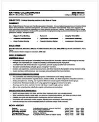 How To Make A Resume Example Of A Resume For A Job On Example Of A