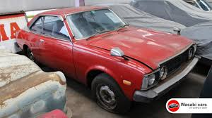 Spotted: A 1976 Toyota Corona 2000 GT - RARE Hardtop version - 18R ...