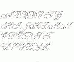 fancy alphabet styles smooth flowing cursive font printables fancy alphabet