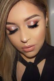 39 top rose gold makeup ideas to look like a dess