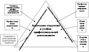 Реферат Условия успешной адаптации студента к учебной  Учебно профессиональная активность