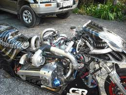 drag motorcycle with a 600 hp twin