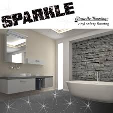 vinyl bathroom flooring. GREY SPARKLE SAFETY FLOORING BATHROOM FLOOR VINYL LINO SPARKLY GLITTER WETROOM Vinyl Bathroom Flooring