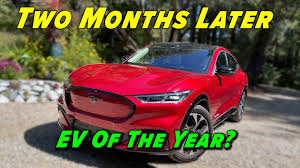 Full Review After 2 Months | 2021 <b>Ford Mustang</b> Mach E - YouTube