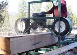 bandsaw mill plans. how to build a homemade portable sawmill from start finish bandsaw mill plans