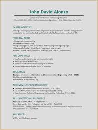 Visual Resume Template Professional Sample Resume Templates New Help