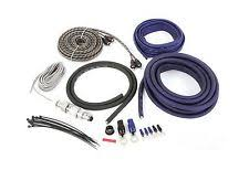 awg multi car audio amplifier kits belva 4 gauge 2 channel complete copper clad amp wiring kit bl shipping