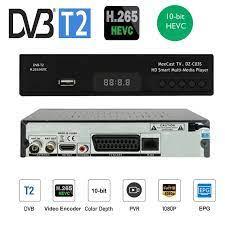 New H265/10Bit DVB T2 Digital Broadcasting Tv Box Dvb T2 Terrestrial Digital  Tv Receiver With HD& Scart Dolby Ac3 H.265 Youtube|Set-top Boxes