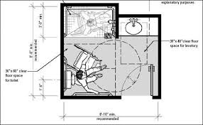 Disabled Bathroom Plans