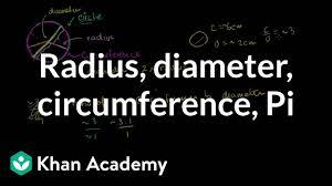Ag Tire Rolling Circumference Chart Radius Diameter Circumference Video Khan Academy