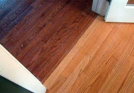 beveled hardwood floor flat