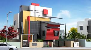 Modern Indian Home Designs By Ashwin Architects Kanasu - Modern apartment building elevations