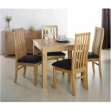 unbelievable cuba oak square oak dining table with 4 chairs flintshire chester fearsome presentation black glass