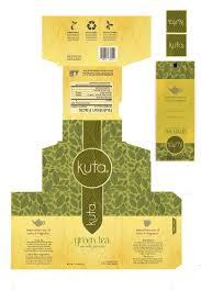 Kuta Tea Package Design Chey West