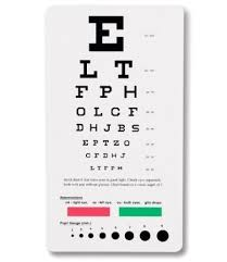 Free Online Eye Test Chart Snellen Pocket Eye Chart Eye Test