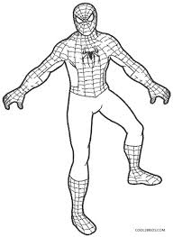 Coloring spiderman can be a little tough because there are a lot of intricacies in his appearance. Printable Spiderman Coloring Pages For Kids