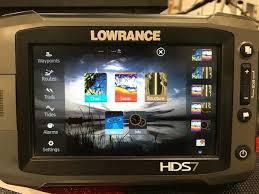 Lowrance Hds7 Gen 2 Touch Fishfinder Gps Chart
