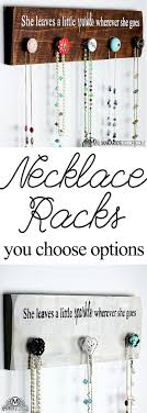 Diy Necklace Holder 25 Best Necklace Hanger Ideas On Pinterest Necklace Storage