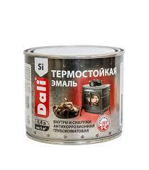 <b>Эмаль Dali термостойкая</b> черная 0,4 л — купить в Петровиче в ...