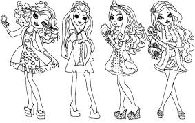 Small Picture Get This Free Ever After High Coloring Pages 33958