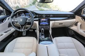 maserati quattroporte 2016 interior detail